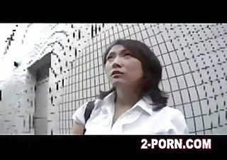 Milf has a creampie thai massage