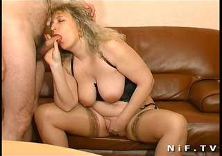bbw french mature sodomized