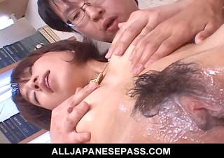 Raunchy Orgy with Hot Japanese MILF Airi Nakajima