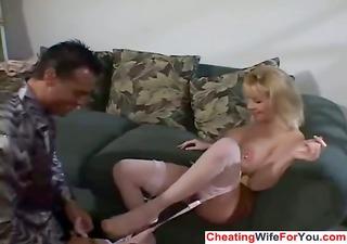 Cuckold wife get fucked