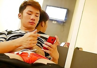 thai boys relaxing jerking solo moment